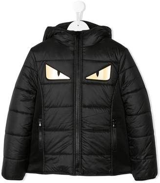 Fendi Monster padded coat