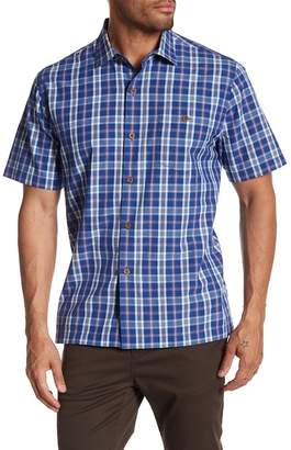 Tommy Bahama Check-O-Lada Short Sleeve Print Shirt