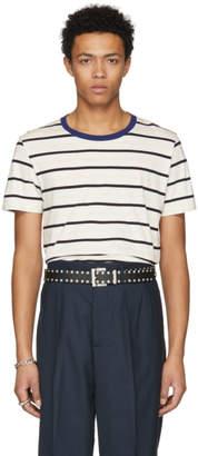 Maison Margiela Three-Pack Multicolor Striped T-Shirt