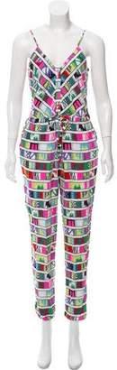 Mara Hoffman Printed Sleeveless Jumpsuit