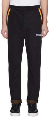 GCDS Rainbow pocket twill jogging pants