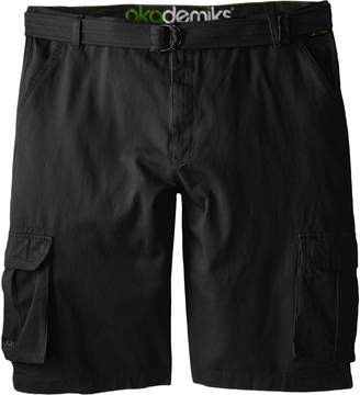 Akademiks Men's Big-Tall Camper Belted Cargo Short