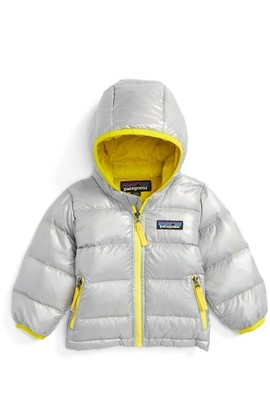 Infant Patagonia Hi-Loft Hooded Down Jacket $129 thestylecure.com