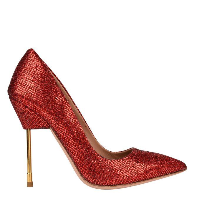 Red Glitter Heels - ShopStyle Australia