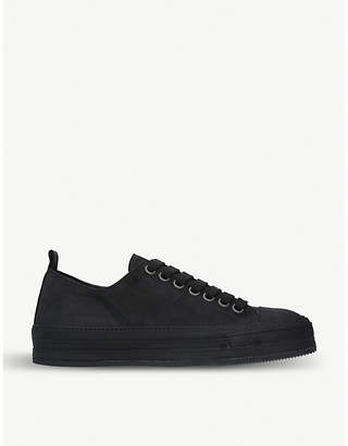 Ann Demeulemeester Suede trainers