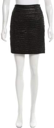 Dries Van Noten Textured Mini Skirt