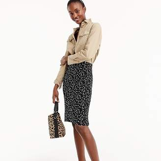 J.Crew Petite pencil skirt in daisy floral