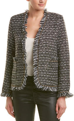 DOLCE CABO Tweed Wool-Blend Jacket