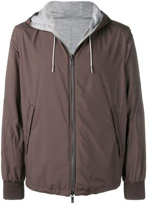 Ermenegildo Zegna hooded lightweight jacket