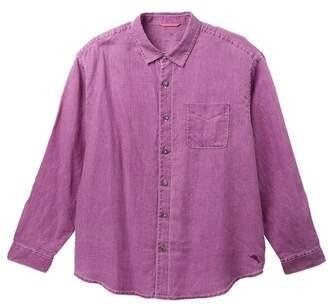 Tommy Bahama Sea Glass Linen Regular Fit Shirt (Big & Tall)
