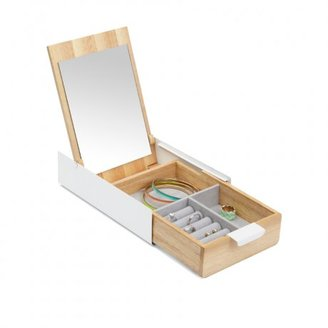 Umbra Reflexion Storage Box $40 thestylecure.com
