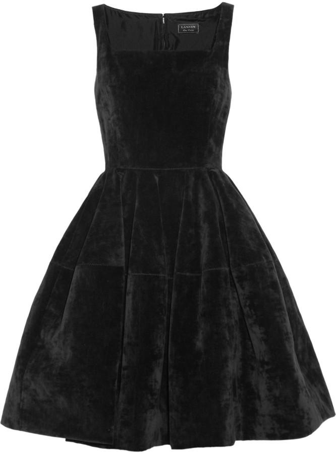 Lanvin Velvet dress