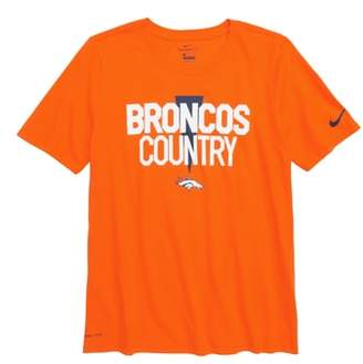 Nike Dry Hyperlocal NFL Denver Broncos T-Shirt