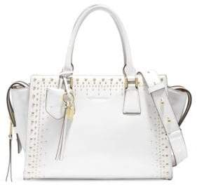 Cole Haan Marli Stud Leather Satchel