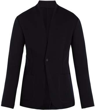 Kilgour Single-breasted wool-blend blazer