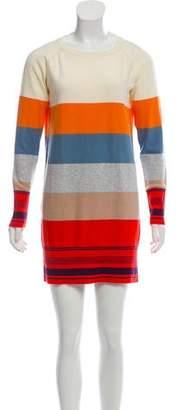 Sonia Rykiel Sonia by Striped Mini Sweater Dress w/ Tags