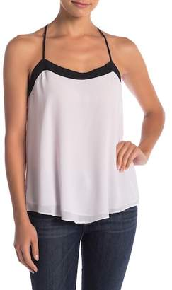 Naked Zebra Colorblock Tank Top
