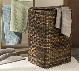 Pottery Barn Perry Hamper & Liner- Havana Weave