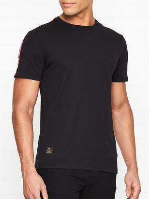Rbf Tape Sleeve T-shirt - Black