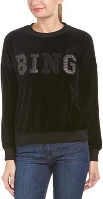Anine Bing Velvet Sweatshirt