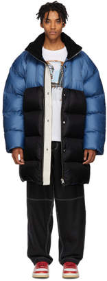 Acne Studios Blue Down Coat