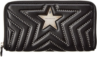 Stella McCartney Star Zip Around Wallet