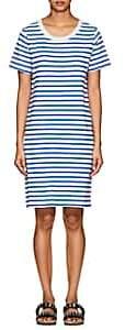 Current/Elliott Women's Striped Cotton T-Shirt Dress