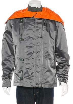 Y-3 Layered Hooded Jacket