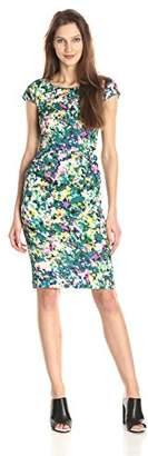 Tracy Reese Women's Silk Floral Print Sheath Dress