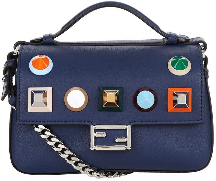 Fendi Micro Double Baguette Studded Bag