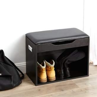 Ebern Designs Compact Storage Bench