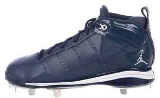 Nike Jordan Leather High-Top Cleats