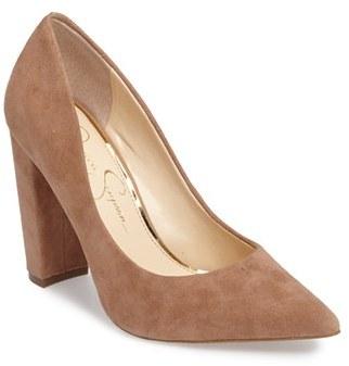 Women's Jessica Simpson Tanysha Pointy Toe Pump $97.95 thestylecure.com