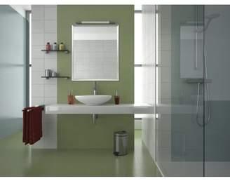Nielsen Bainbridge Group 30x36 Brushed Silver Aluminum Vanity Mirror, with 1 1/4 Wide Moulding