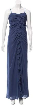 Jill Stuart Draped Ruffle-Trimmed Dress w/ Tags