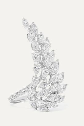 Messika Angel 18-karat White Gold Diamond Ring