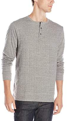 Threads 4 Thought Men's Double Faced LS Henley