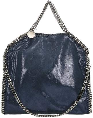 Stella McCartney Falabella Fold Over Tote Ink Faux Leather Bag