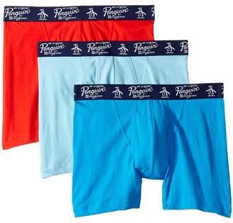 Original Penguin 100% Cotton 3 Pack Boxer Brief Men's Underwear