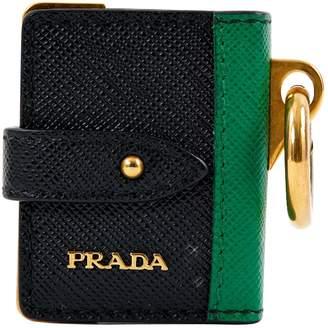 Prada Leather bag charm
