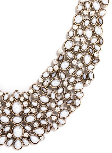 Women's Baublebar 'Kew' Crystal Collar Necklace 3