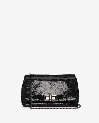 Express Sequin Turnlock Bag