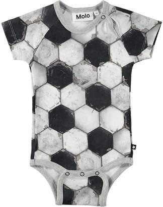 Molo Baby Feodor Football Structure Bodysuit