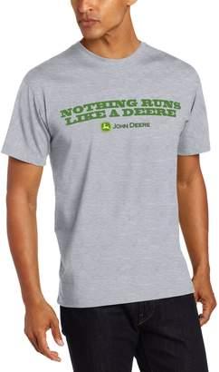 John Deere 'Nothing Runs Like a Deere' T-Shirt - Men's - Gray