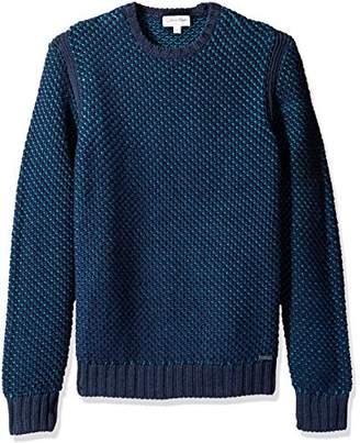 Calvin Klein Men's Crew Cableknit Sweater