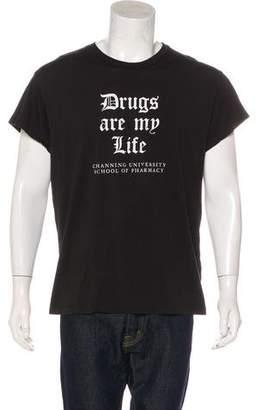Amiri Drugs Are My Life T-Shirt