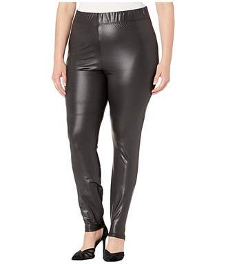Junarose Plus Size Shiny Leggings