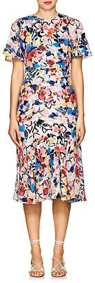 Prabal Gurung Women's Victoria Floral Silk Dress
