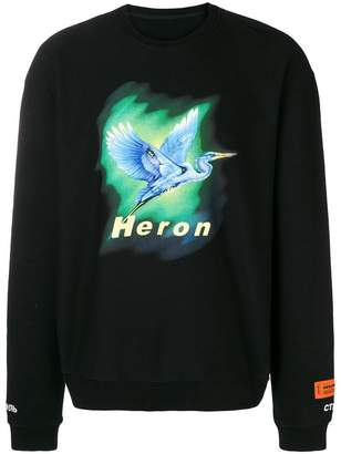Heron Preston Bird print sweatshirt