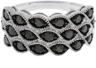 Black Diamond Affinity Diamond Jewelry Band Ring, Sterling, 1.25 cttw, by Affinity